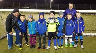 Under 8s Blues & Whites